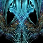 Abstract fractal case2 by Zoe Gentz