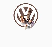 Volkswagen Pin-Up Chatty Cathy (brown) Unisex T-Shirt