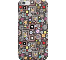 bright abstract pattern iPhone Case/Skin