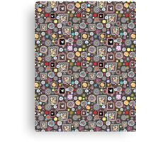 bright abstract pattern Canvas Print