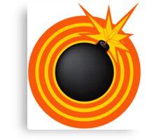 Bomb! Canvas Print