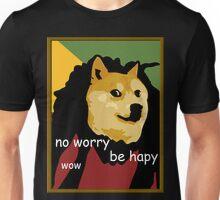 Bob Marley Doge (Framed) Unisex T-Shirt