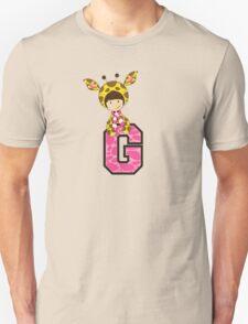 G is for Giraffe Unisex T-Shirt