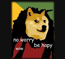 Bob Marley Doge (Transparent Edges) Unisex T-Shirt
