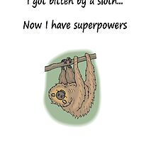 Sloth Superpowers by Sauropod8