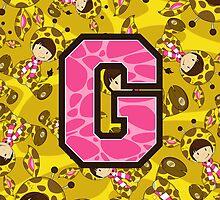 G is for Giraffe by MurphyCreative