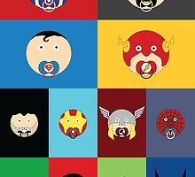 Superhero Babies by ronswanson