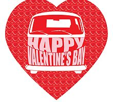 Valentine's Day VW Camper Bay by splashgti