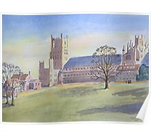 Ely Cathedral by Nick Clark Poster