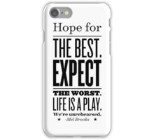 unrehearsed iPhone Case/Skin
