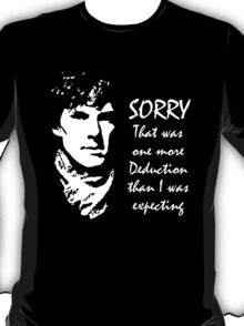 One More Deduction T-Shirt