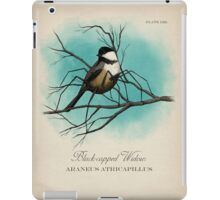 Black-capped Widow iPad Case/Skin