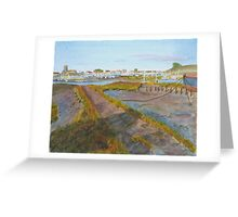 Evening Shadows,Shoreham, by John Rees Greeting Card