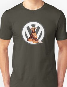 Volkswagen Pin-Up Senorita (gray) T-Shirt