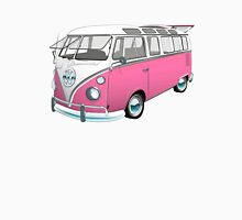 21 Window Volkswagen Bus... but PINK! Unisex T-Shirt