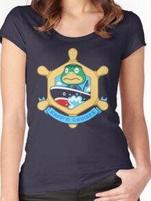 KAPP'N CRUISES Women's Fitted Scoop T-Shirt