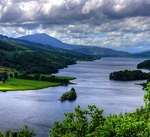 Loch Tummel View by Tom Gomez
