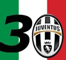 Juventus Campioni d'Italia Sticker