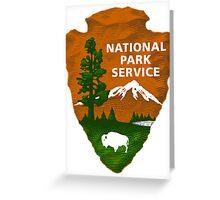 National Park Service Shaded Logo Greeting Card