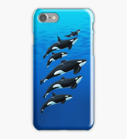 San Antonio Orcas iPhone Case/Skin