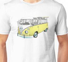 21 Window Volkswagen Bus Unisex T-Shirt