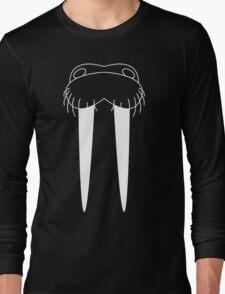 Walrus Face Long Sleeve T-Shirt