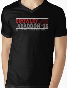 Crowley & Abaddon '16 Mens V-Neck T-Shirt