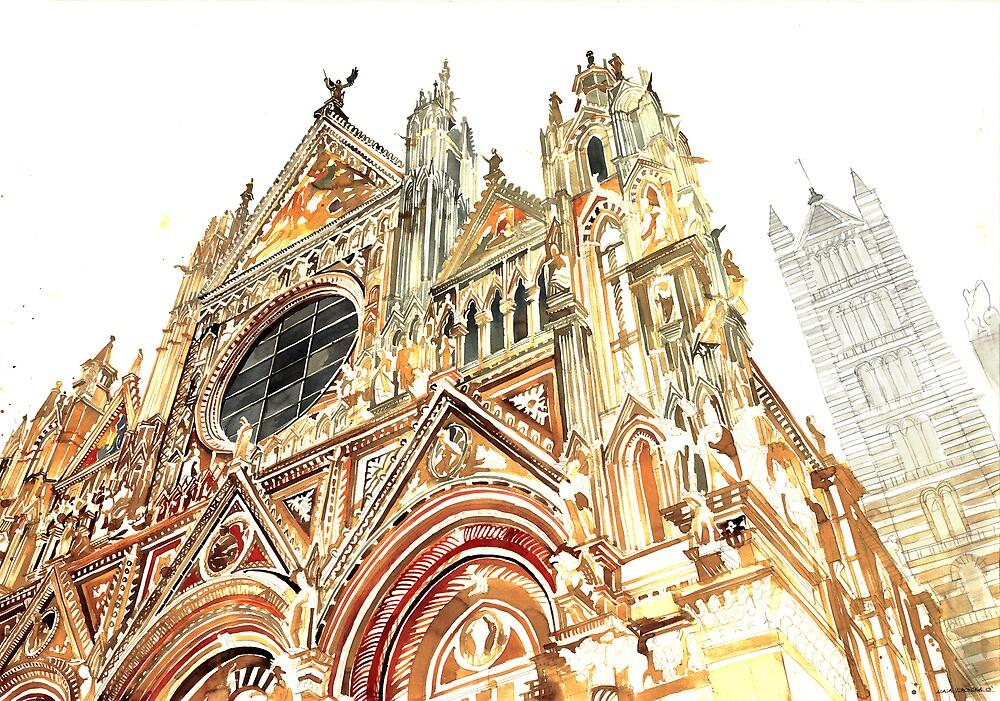 Siena by Maja Wrońska