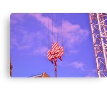 Candy Crane 2 Canvas Print