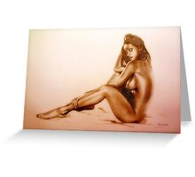 Nude 1 Greeting Card
