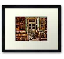 Woods Studio Framed Print