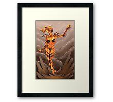 Fire Atronach - Skyrim Framed Print