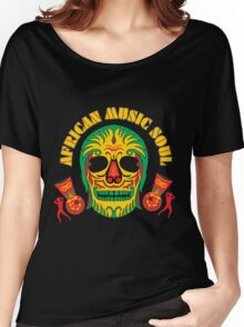 AFRICAN MUSIC SOUL Women's Relaxed Fit T-Shirt