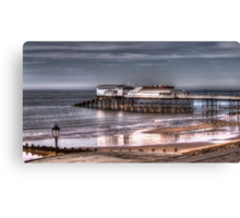 Cromer Pier and reflection Canvas Print