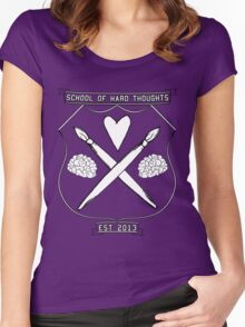 School Of Hard Thoughts Women's Fitted Scoop T-Shirt