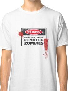 Zombie Warning! Classic T-Shirt