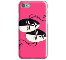 Comedy/Tragedy Masks iPhone Case/Skin