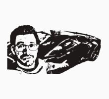 Tai Lopez In His Garage Black & White Kids Tee