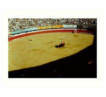 1950's Bull Fight Art Print