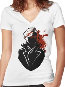 The Fall Women's Fitted V-Neck T-Shirt