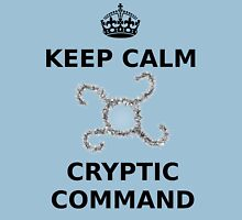 Keep Calm Cryptic Command T-Shirt