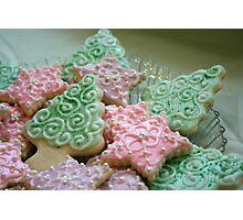Grandma Julie's Winter Cookies Photographic Print