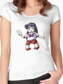 Legolized Sailor Mars Women's Fitted Scoop T-Shirt