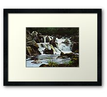 Torrent Framed Print