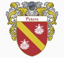 Peters Coat of Arms / Peters Family Crest Kids Clothes