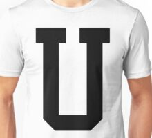 Letterman U Unisex T-Shirt