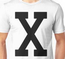 Letterman X Unisex T-Shirt