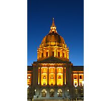 San Francisco City Hall Photographic Print