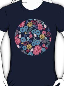 Fairytale flowers pattern T-Shirt