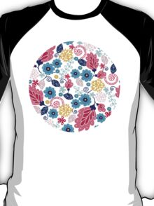 Fairytale flowers pattern T-Shirt